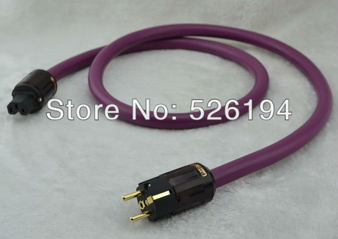 Free shipping 1 5meter Furutech Alpha PS-9 Power Cable audio power