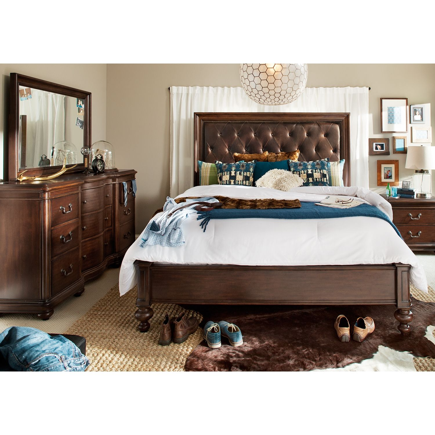 Montgomery 5 Pc King Bedroom American Signature Furniture