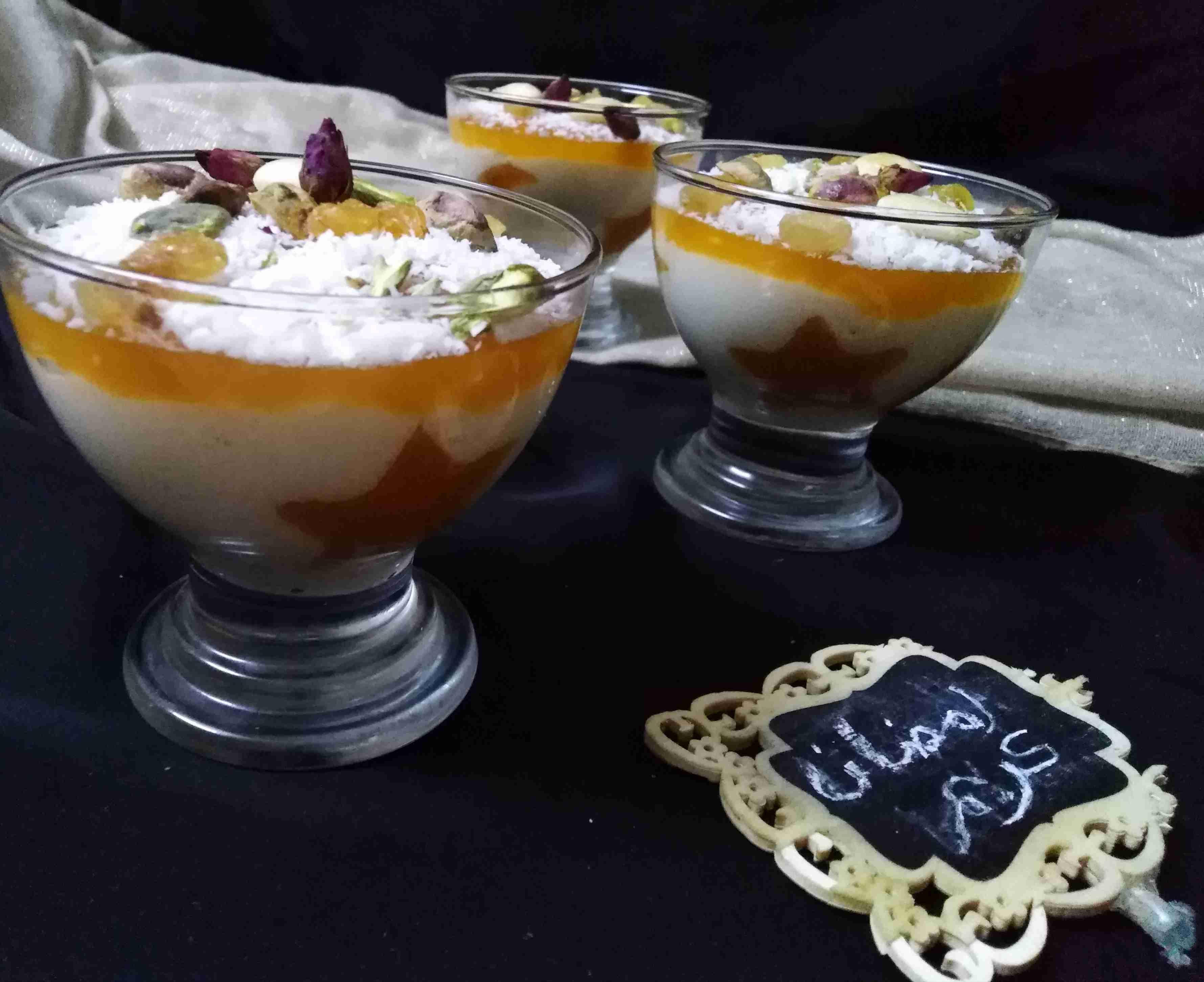 ليالي لبنان مع طبقة مهلبية قمر الدين ملكة رمضان زاكي Recipe Recipes Cooking Recipes Food