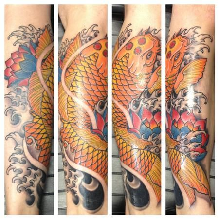 Tattoos Traditional Japanese Nature Water Animal Pictures