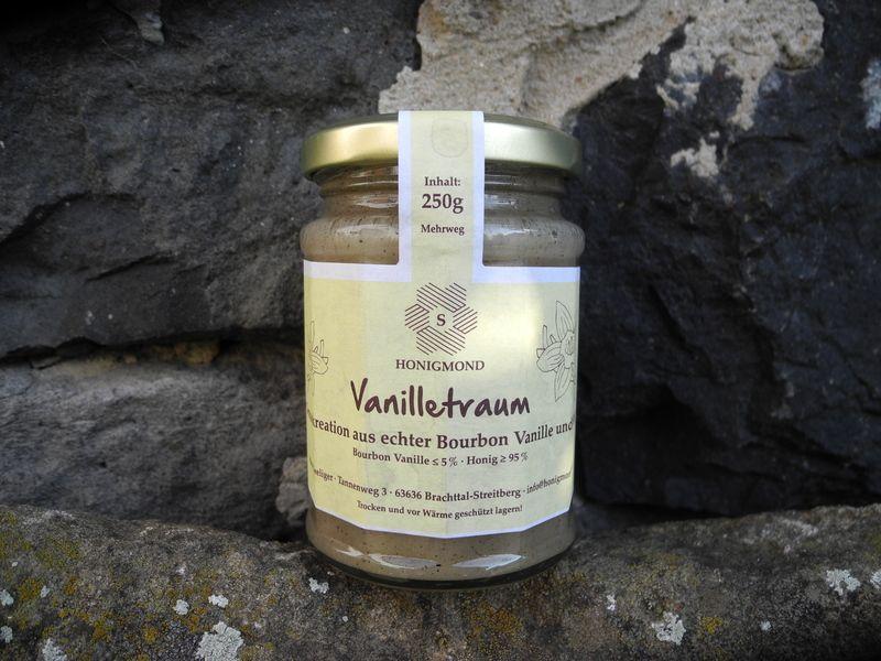 Gourmet Genießerhonig mit echter Bourbon Vanille von HONIGMOND  Honigspezialitäten und Bienenerzeugnisse vom Tannenhof auf DaWanda.com