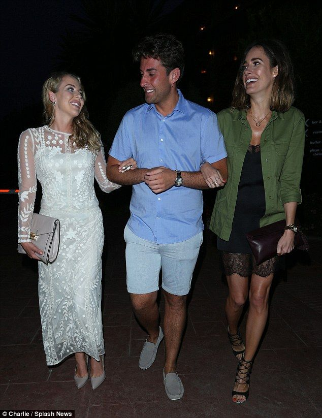 TOWIEs Georgia Kousoulou and Ferne McCann turn heads in Marbella   Towie, Fashion, Louise thompson