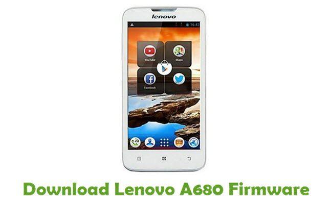 Прошивка Lenovo A680