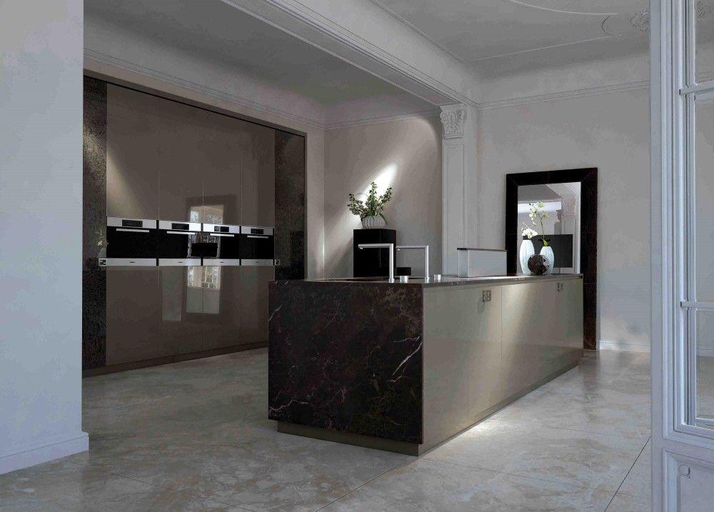 Muebles de cocina fendi y piedra natural gunni trentino - Gunni trentino cocinas ...