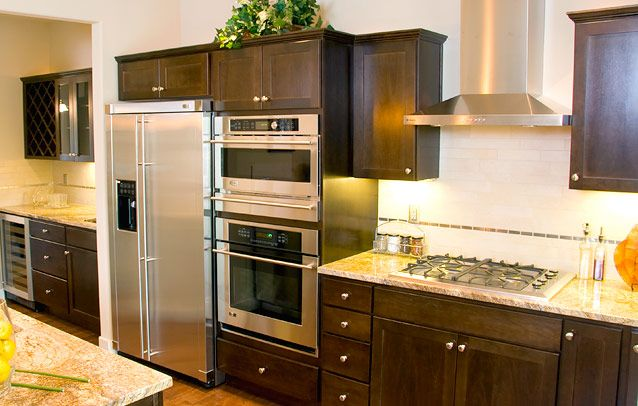 Kitchen Cabinets Ideas Painting Oak Kitchen Cabinets Espresso