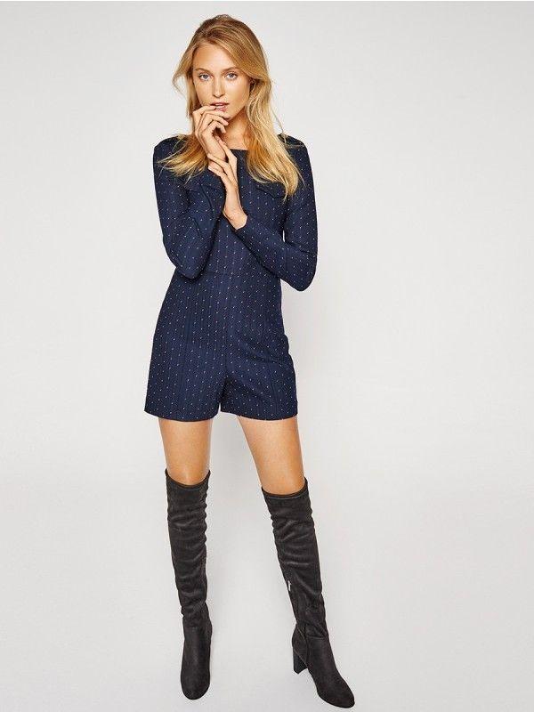 Kozaki Damskie Fashion Sweater Dress Boots