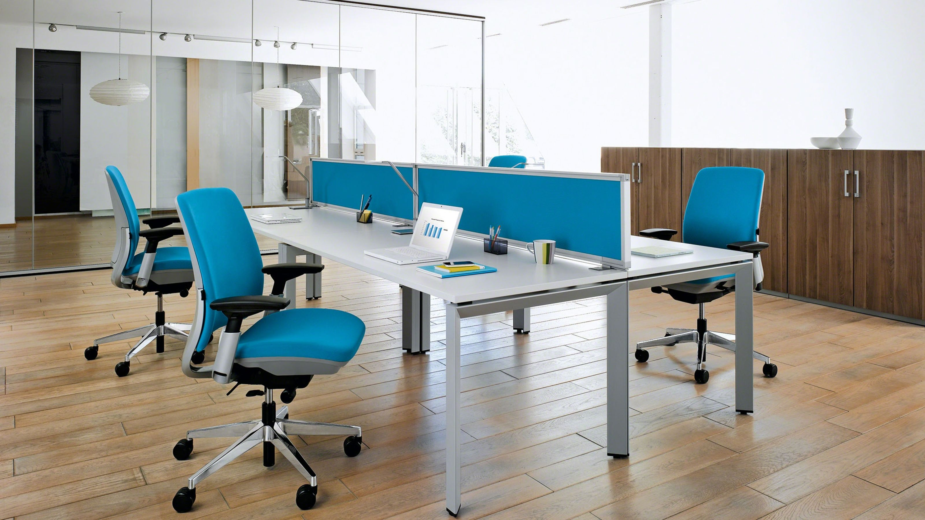 Amia Ergonomic Task Chair with Adjustable Arms  Office furniture