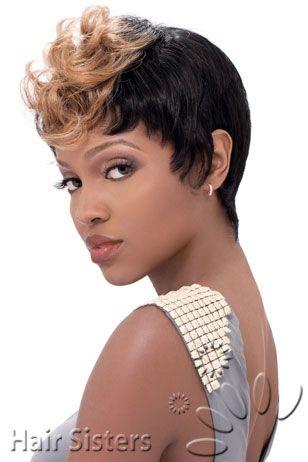 Sensationnel Human Hair Premium Now Bump Wig Mod Mohawk ...