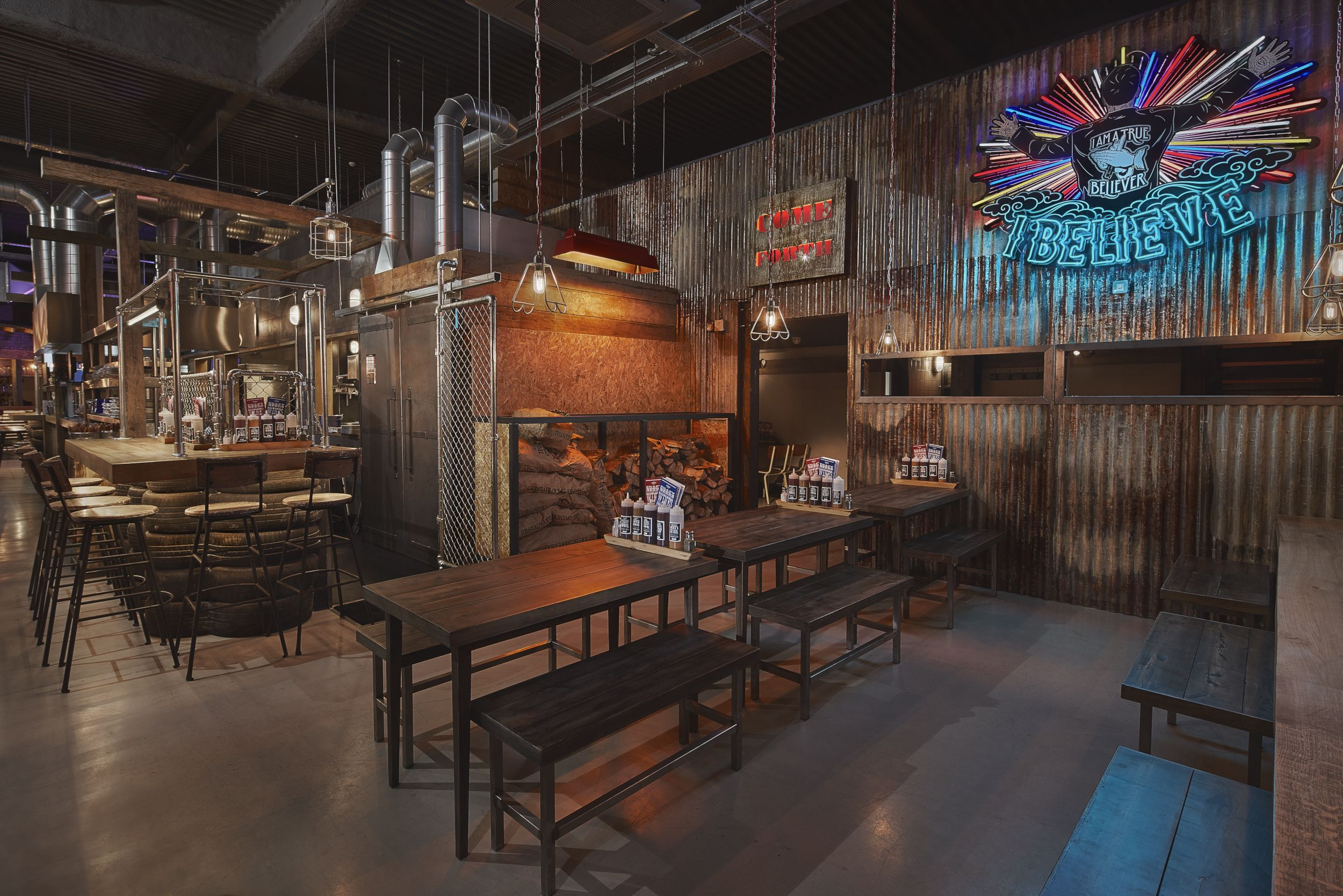 southern bbq restaurant interior - Google Search | Project ...