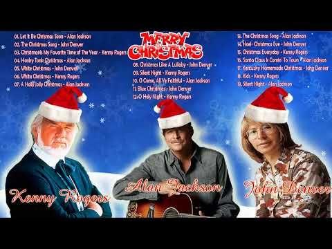 alan jacksonkenny rogersjohn denver christmas album 2018 country christmas songs - Country Christmas Songs Youtube