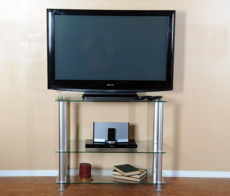 35 Inch Extra Tall Glass Aluminum Tv Stand Rta Tvm 002 Tv Stand Glass And Aluminium Lcd Tv Stand 35 inch tall tv stand