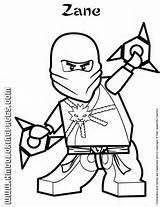Lego Ninjago Zane Colouring Page Lego Coloring Pages Ninjago