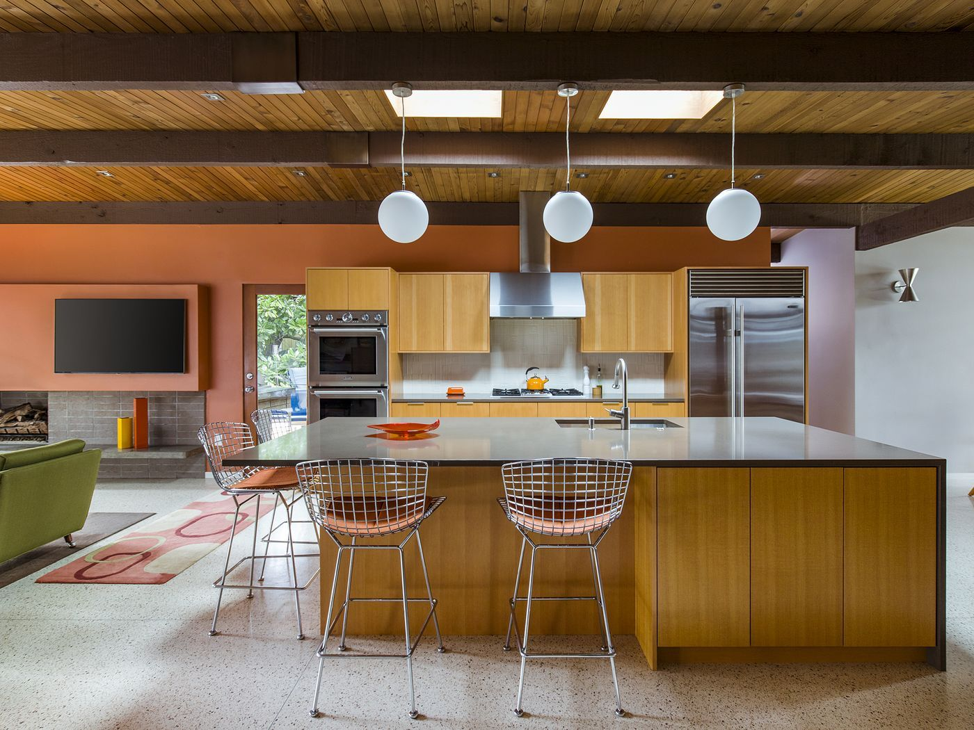 Remaking midcentury modern in Portland - Curbed | ranch | Pinterest