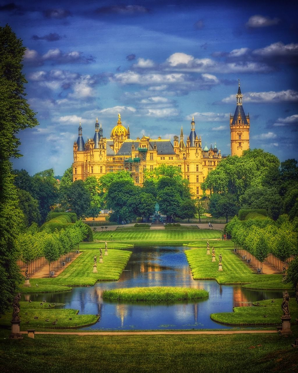 Castle, Castle, Schwerin, Schwerin Castle #castle, #castle
