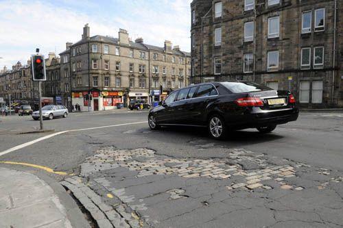 Are Edinburgh's roads really worse than those in Venezuela?