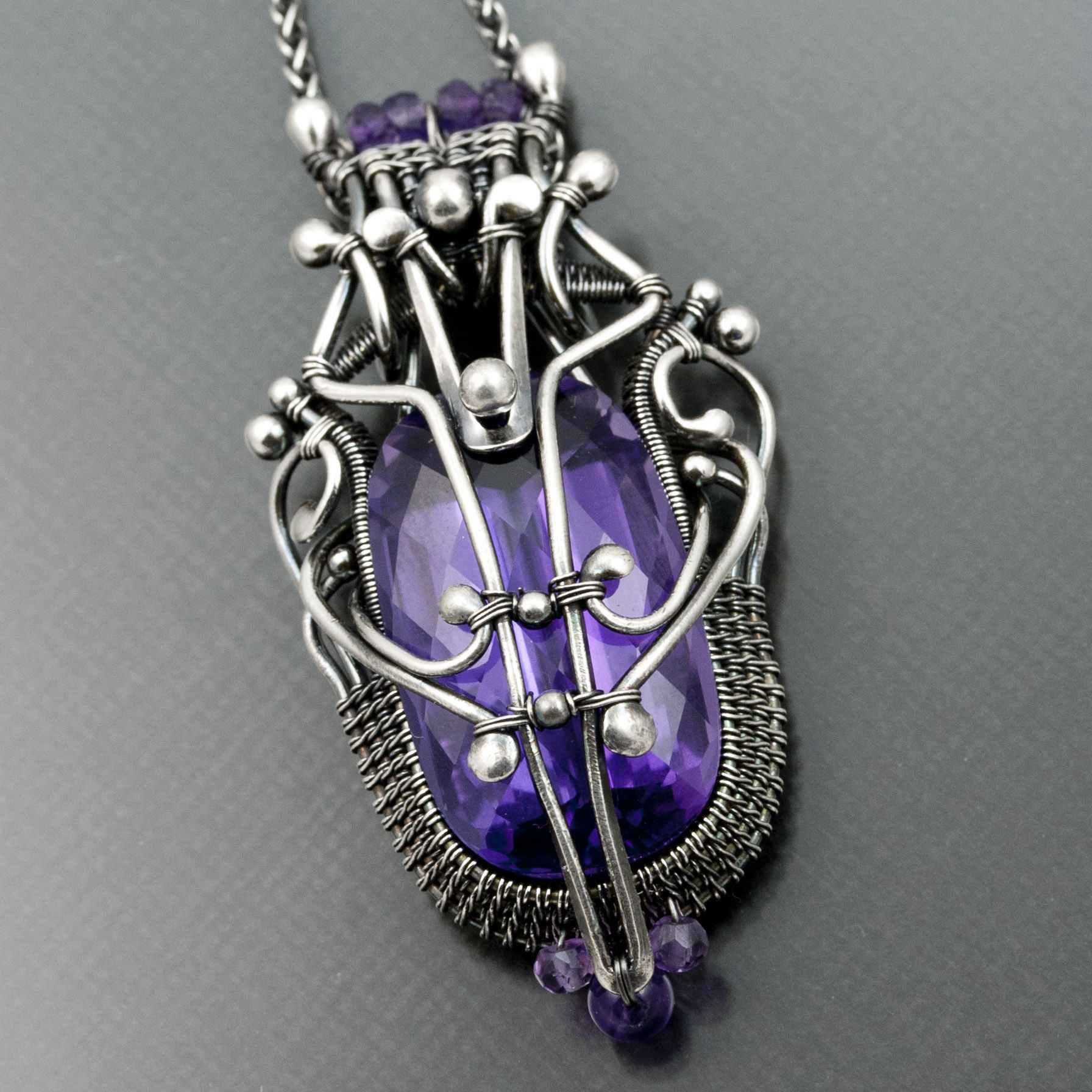 wire work pendents | sarah-n-dippity | Gorgeous Wire-Work Jewelry