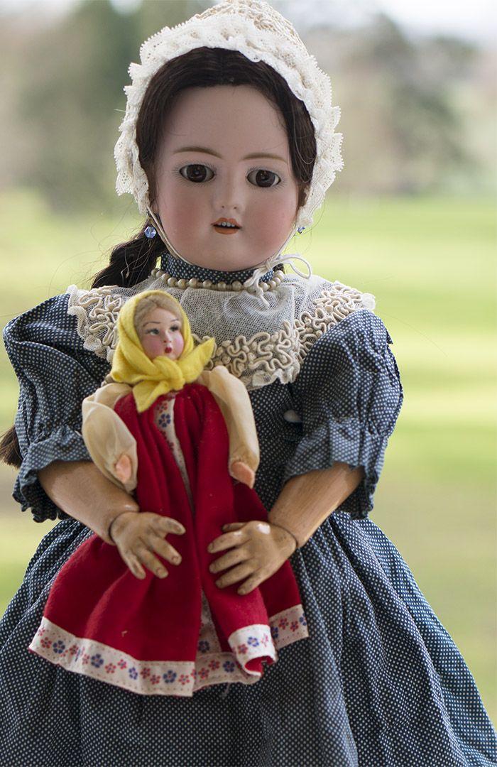 Kley & Hahn модель Walkure и ее маленькая кукла