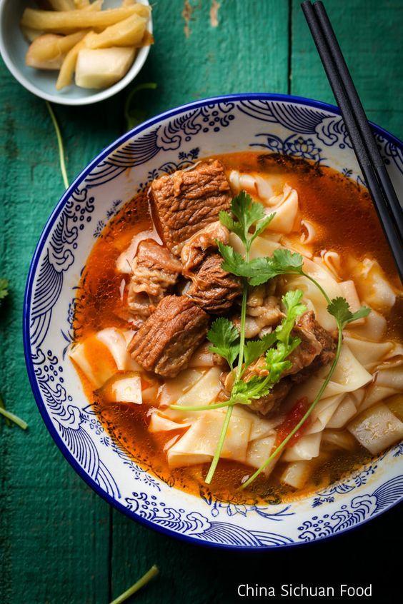 Asian beef noodle soup recipe