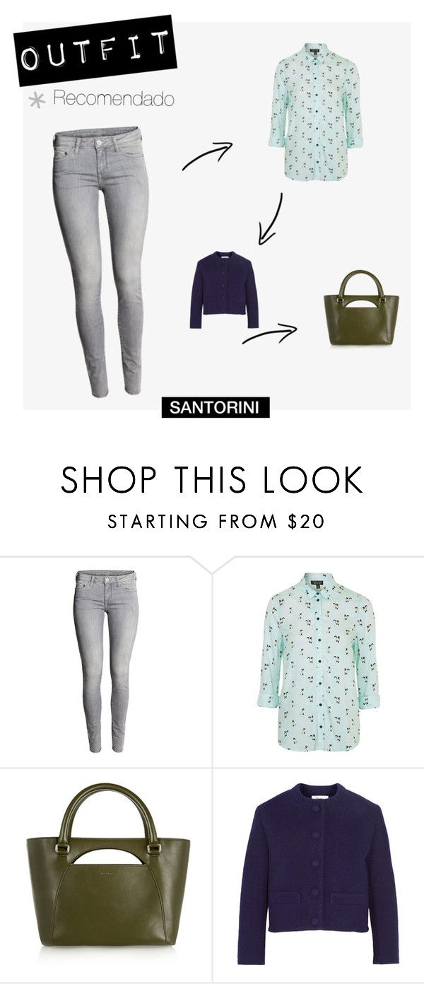 """Botín LILO"" by visual-i on Polyvore featuring moda, H&M, Topshop, J.W. Anderson y Carven"