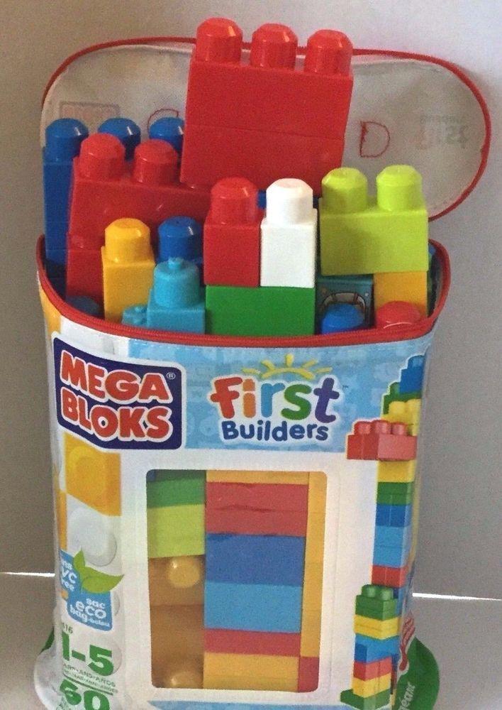 Mega Bloks Bag Over 60 Pcs