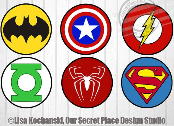 photograph relating to Printable Superheroes titled Prompt Down load Superhero Emblem Stickers Superhero Stickers