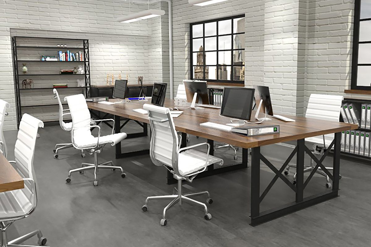 Iron Age Office Modern Industrial Office Furniture Modern