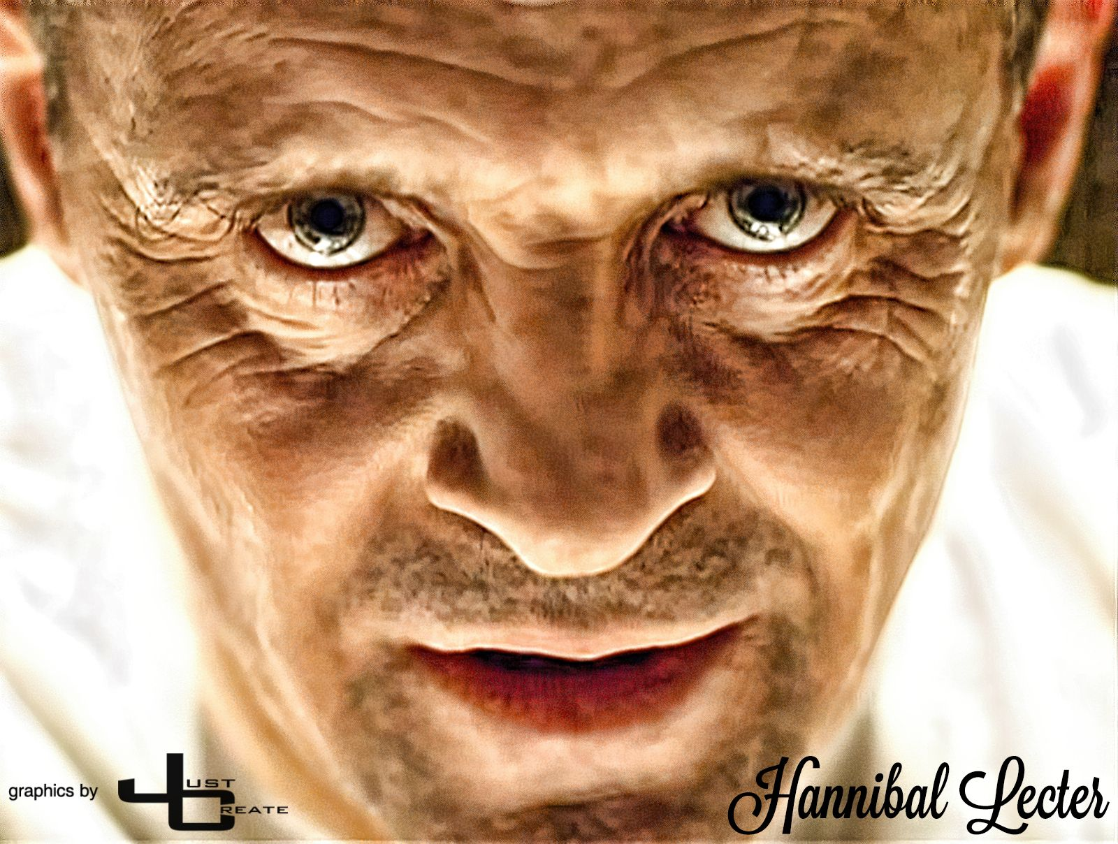 The Silence of the Lambs  - Hannibal Lecter  (Anthony Hopkins)   graphics by justcreate