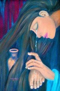 The Alabaster Treasure Alabaster Jar Painting Christian Art