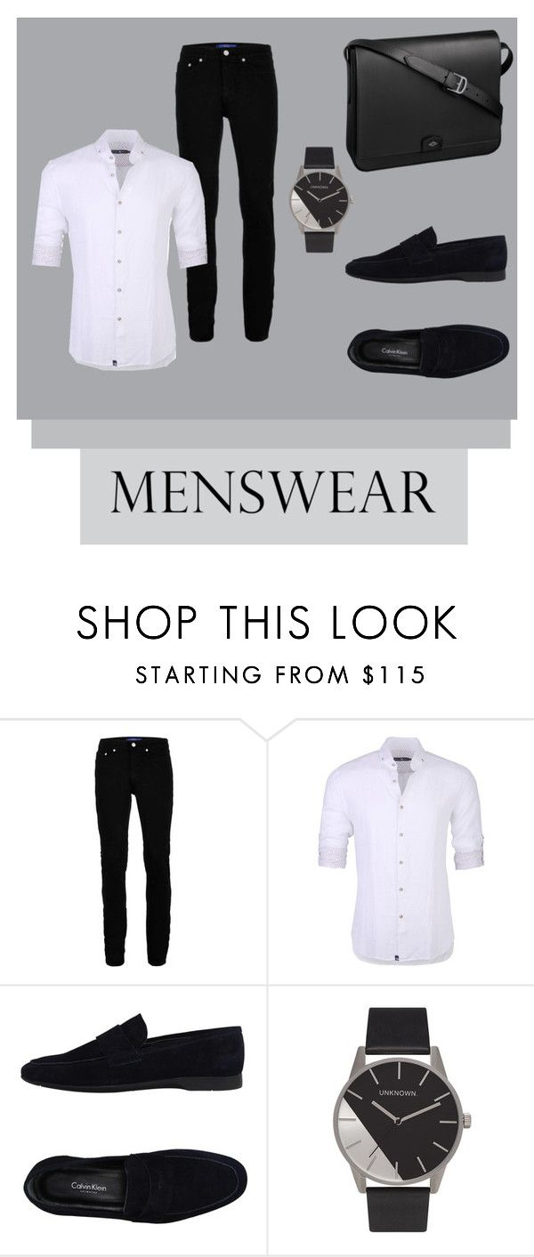 """""""Menswear Staple: Slip - Ons"""" by georgiarkanderson ❤ liked on Polyvore featuring Topman, Stone Rose, Calvin Klein Collection, Cartier, men's fashion, menswear and slipons"""