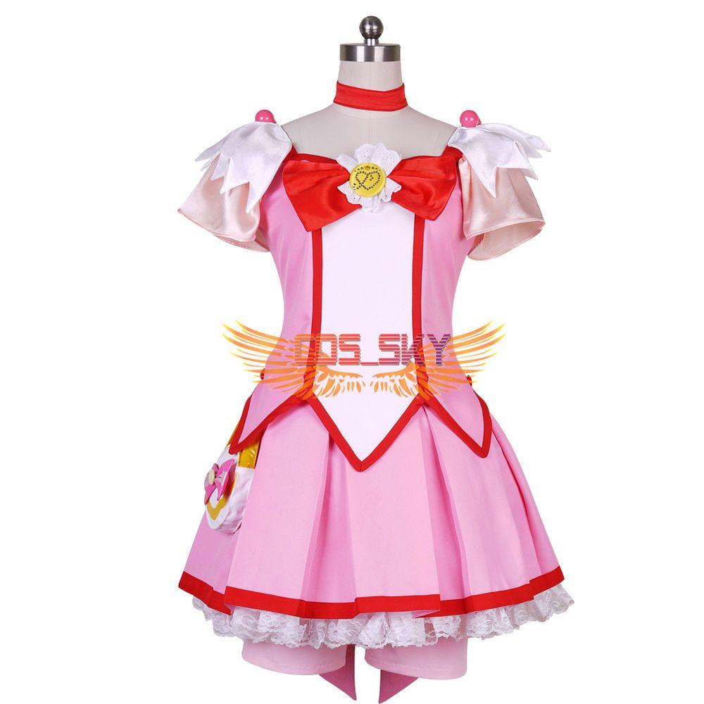 Cosplay · Smile PreCure! Glitter Force Hoshizora Miyuki Cure Happy ...