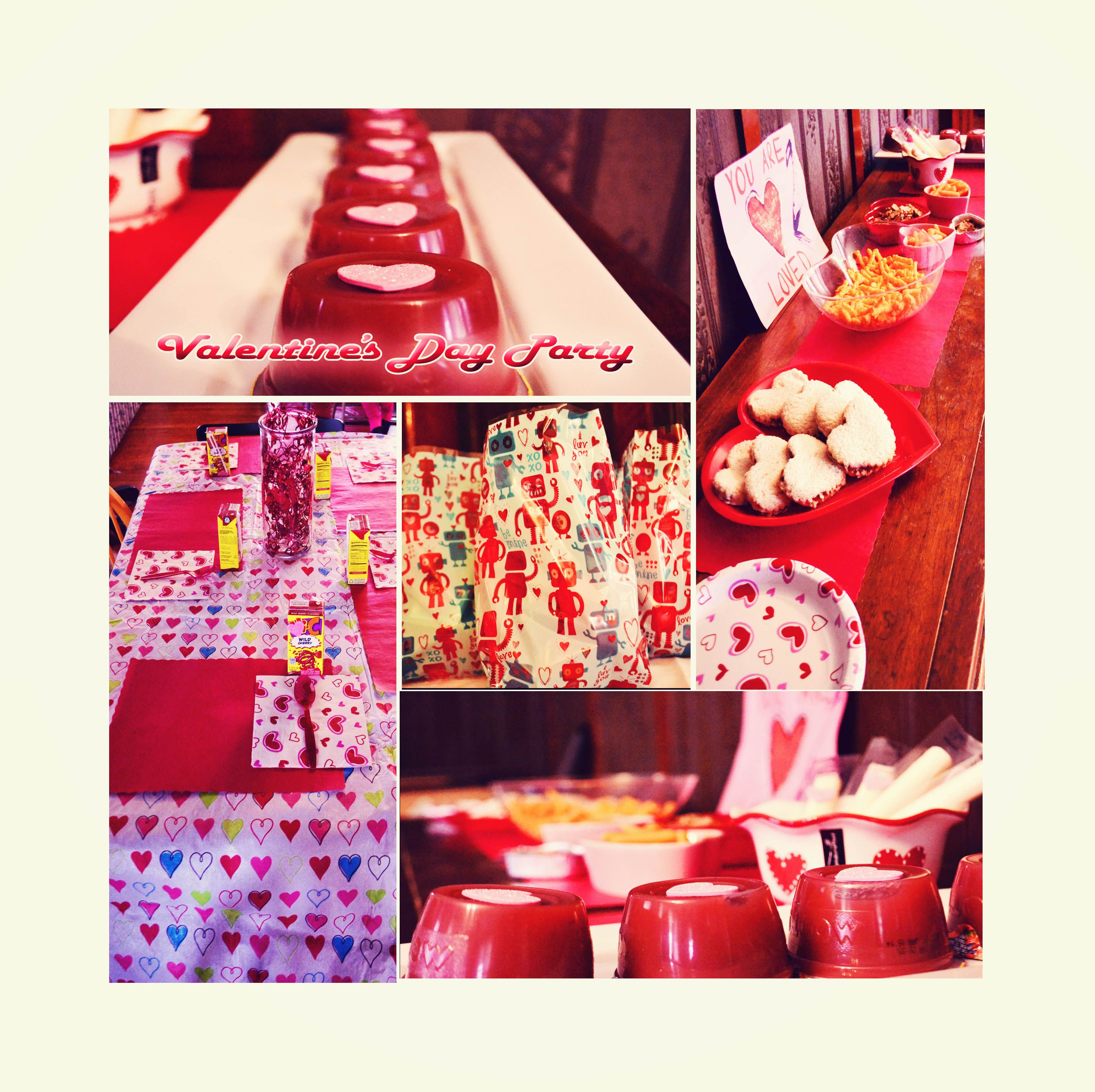 Jenny's super cute Valentine's Day party. :)