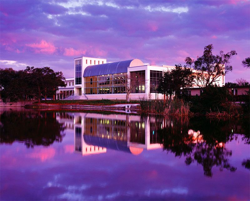 library of Eckerd College in Florida architecture I love