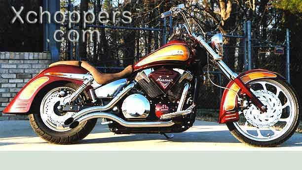 XChoppers Honda VTX Chopper Parts for 1300 and 1800 VTX Motorcycles