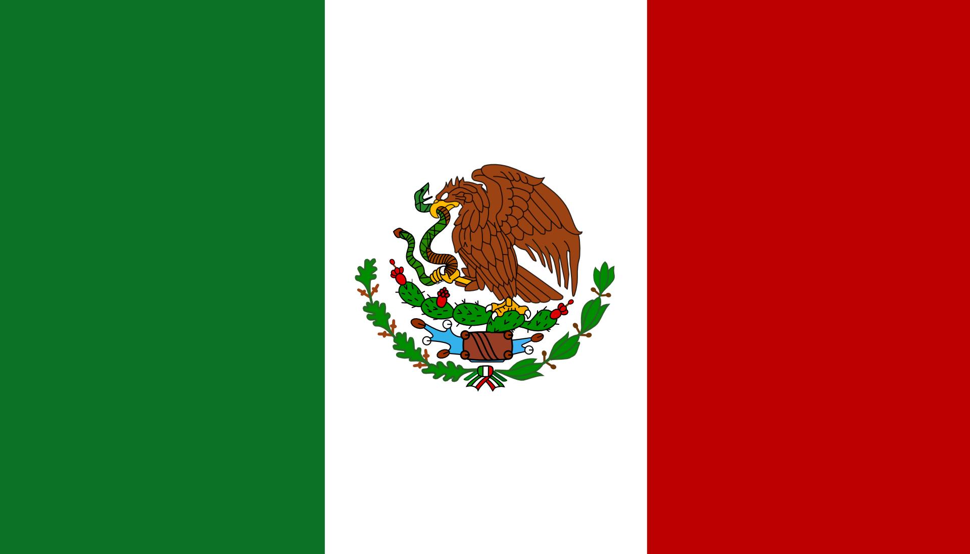 Mexico Aztec Symbols Mexican Flags Mexico Flag