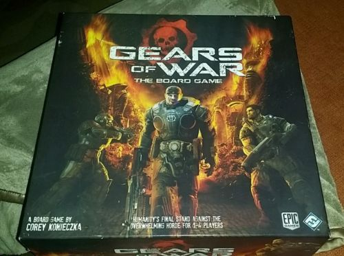 Gears Of War The Board Game From Fantasy Flight Ships Priority