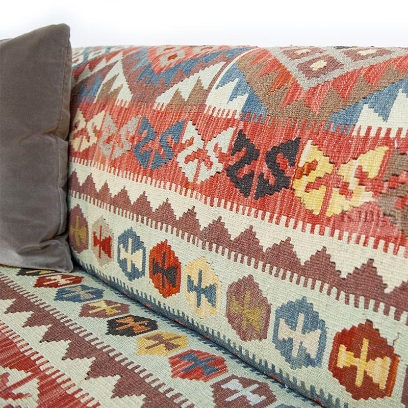 Contrast Upholstery Tegan Sofa 4