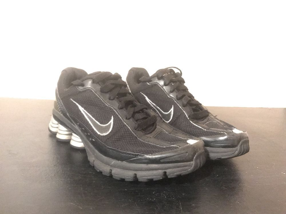 reputable site d1458 e3c82 7 Black fashion Size Lightly Shox Worn ebay athleticshoes 5 Women s shoes  And Nike Grey Link ...