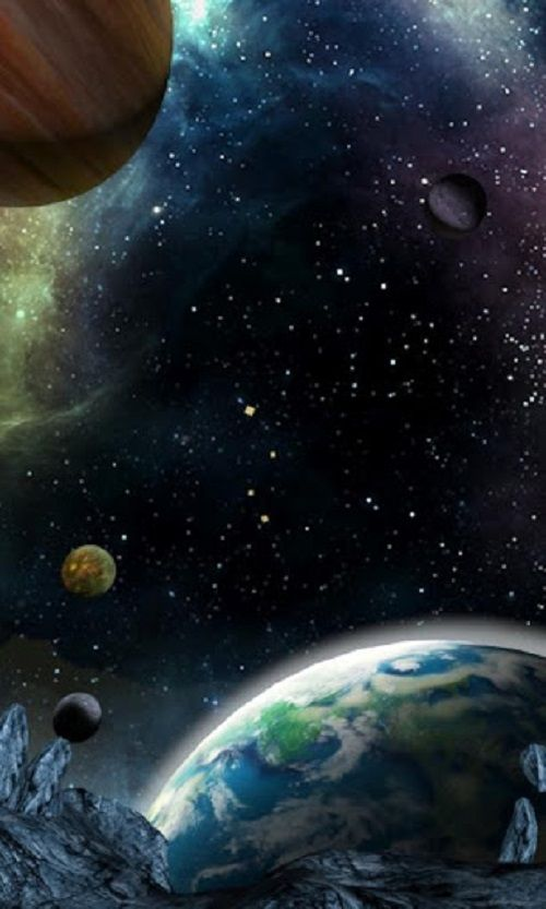 Free 3D Space Wallpapers For Android Devices Wallpaper