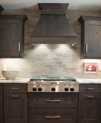 Kitchen Backsplash Ideas 2020 Dark Cabinets