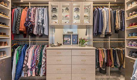 Client Story: Davis Ligon   California Closets Charlotte