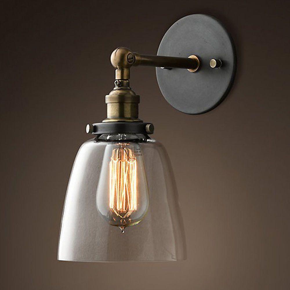Retro Wandlampe Vintage Nostalgie Glas Wandlampe Retro Wandleuchte Lampe Mobel Wohnen Beleuchtung Wandleuchten Ebay Wandleuchte Wandbeleuchtung Lampe