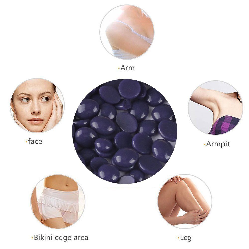 medium resolution of oksale hard wax beans stripless depilatory wax hot film hard wax pellet waxing bikini hair removal bean for men menhairstylecollection
