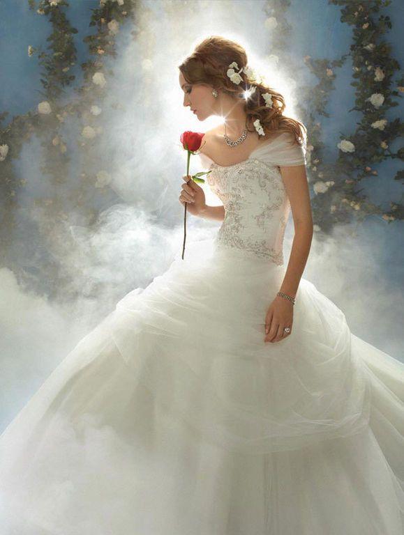 Reminds me of belle my favorite disney princess | Wedding ...