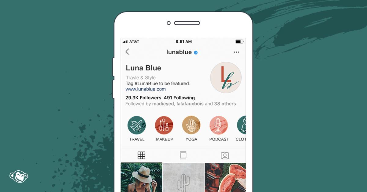 Make Custom Instagram Highlight Covers Picmonkey Picmonkey App Instagram Marketing Tips Text Mask