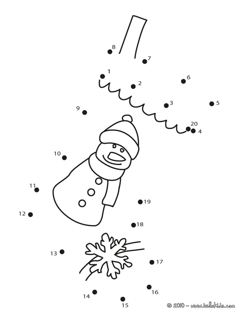 dot to dot christmas winter kids preschool christmas winter theme. Black Bedroom Furniture Sets. Home Design Ideas