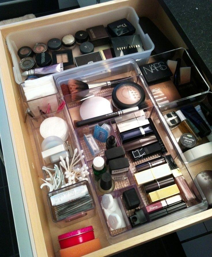 9d50f7da6 20 Trucos para organizar tus productos de belleza ¡Te cambiarán la ...