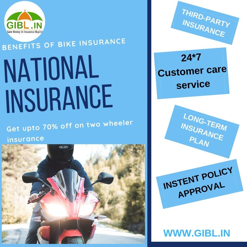 National two wheeler insurance renewal benefits car