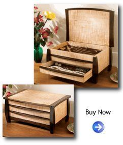 Plans to Build A Gem of a Jewelry Box Woodworking Plans