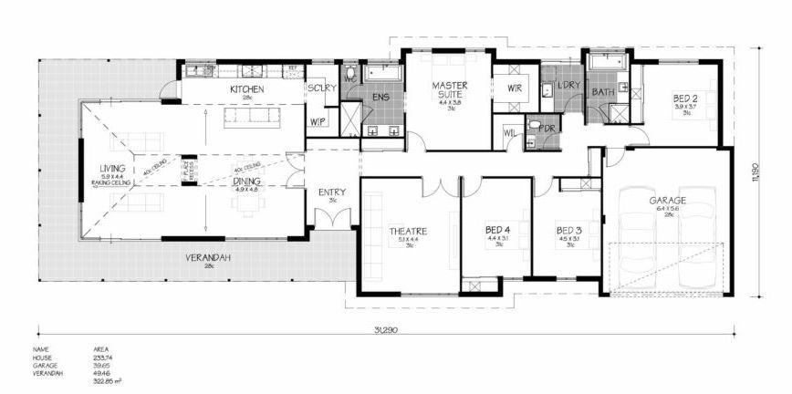 Floor Plan Friday Wrap Around Verandah Floor Plans Small House Floor Plans Bedroom Floor Plans