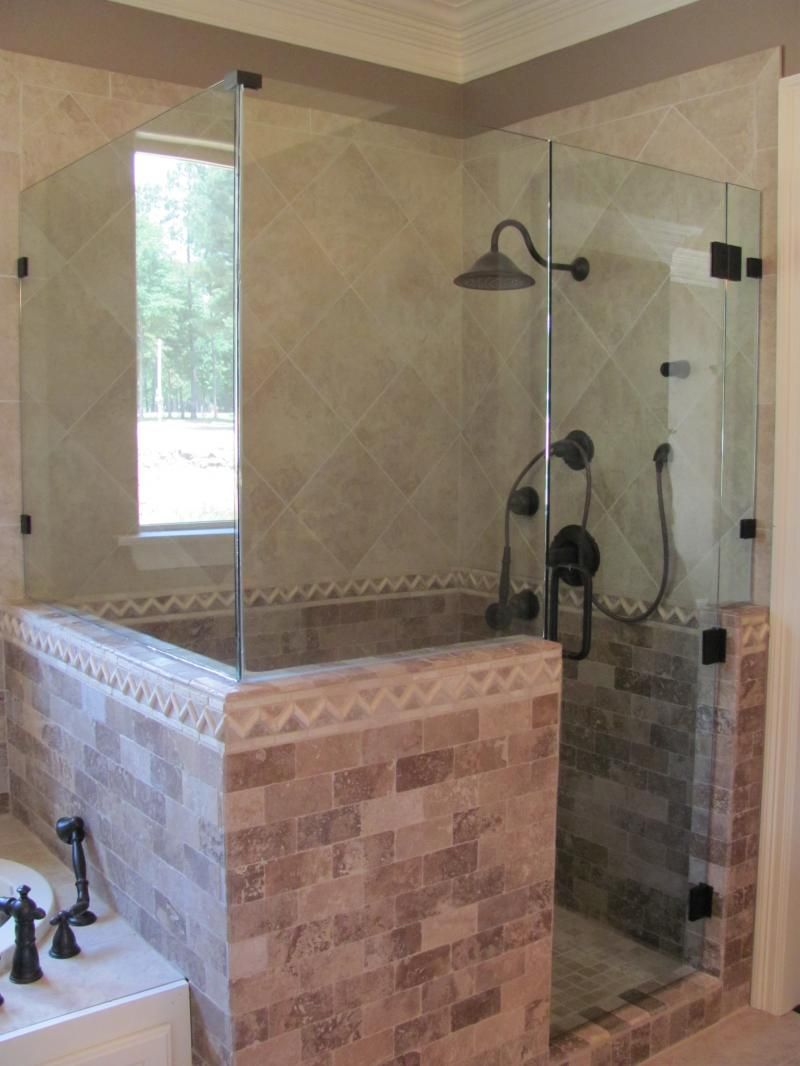 Glass Showers Custom Shower Enclosures All Of The